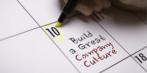 Build a great company culture 300